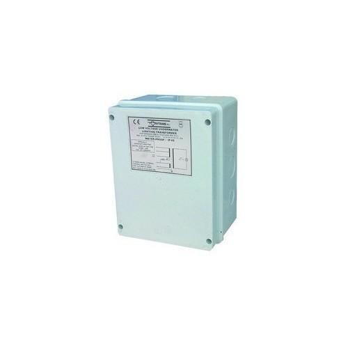 TRANSFORMADOR IP-65 ENCAPSULADO, TRANSFORMADOR IP-65 ENCAPSULADO: 35807 130 VA DE 220-240V A 12V