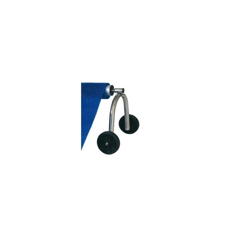 Soporte móvil para enrollador de cubiertas Flexinox