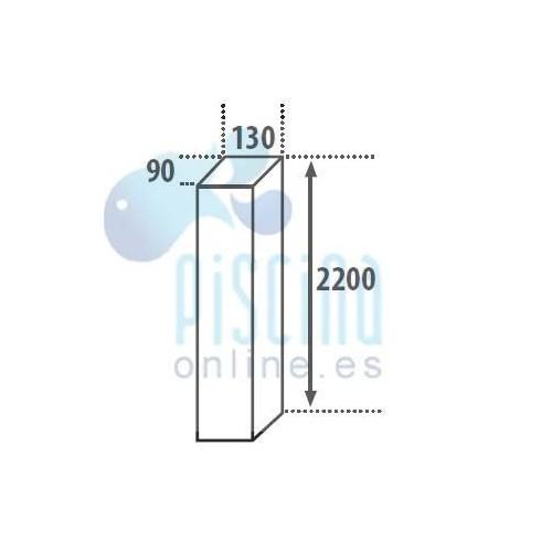 Adaptador de boquilla de aspiración de MX8 de Zodiac