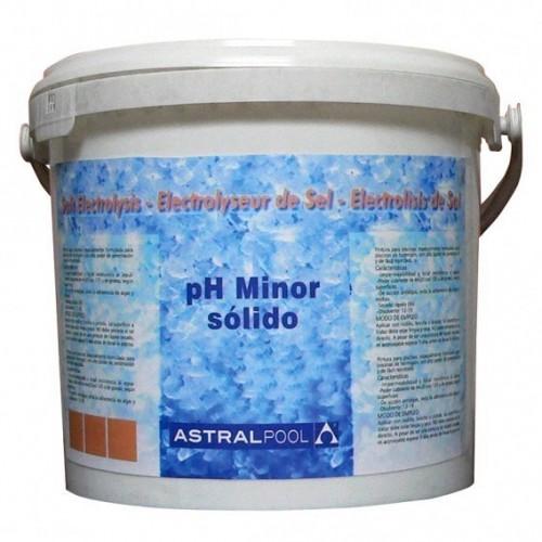 pH Minor sólido para electrólisis de sal 8 kg AstralPool