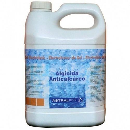 Algicida y Anticalcáreo especial electrólisis de Sal AstralPool 5L