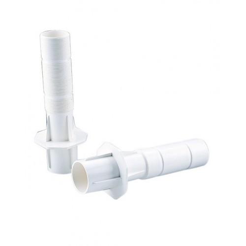 Pasamuros conexión posterior 2'' rosca macho / liso interior Ø 50 mm