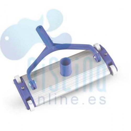 Limpiafondos de aluminio 35 cm. para clip
