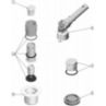 RECAMBIOS BOQUILLA NET'N'CLEAN, RECAMBIOS BOQUILLA NET'N'CLEAN: (5) 4402043203 - TAPA BOQUILLA