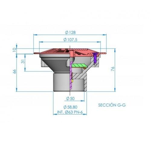 Conjunto purga y manómetro del filtro Tritón de Pentair Water
