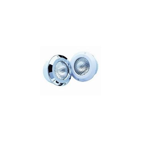 Proyector Standar Piscina de Hormigón, Proyector Standar Piscina de Hormigón: Sin cable con embellecedor en INOX blanco 07837