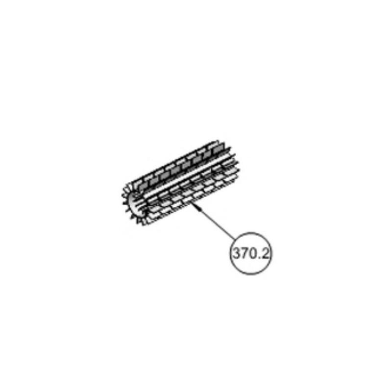 Cepillo PVC gris Pulit Advance