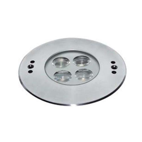 Foco empotrable sumergible led de 135 mm., Foco empotrable sumergible led de 135 mm.: ESS3X3A-BC - 35º asimétrico - Blanco cálid