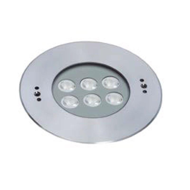 Foco empotrable sumergible led de 180 mm., Foco empotrable sumergible led de 180 mm.: ESS6X3A-BF - 35º asimétrico - Blanco frío
