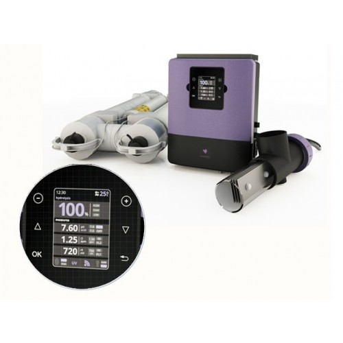 UV Scenic de Sugar Valley, UV Scenic de Sugar Valley: UV 33B - UV 2 lamp 55 W + Electrólisis 33 g/h + Control pH