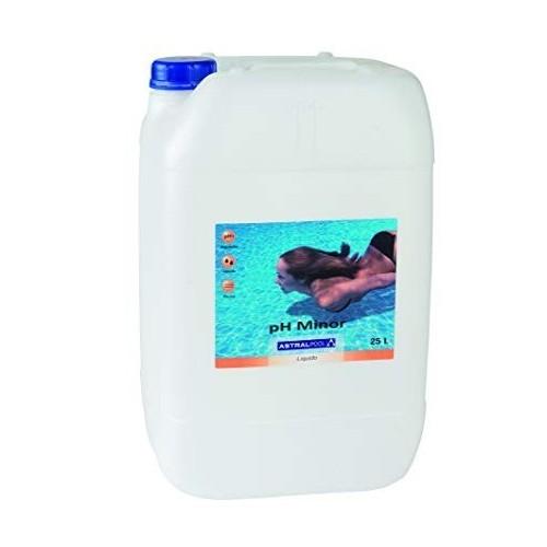 pH Minor líquido AstralPool, Minorador ph líquido: Minorador líquido 25 L