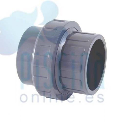 Enlace 3 piezas PVC a encolar D.  63 mm. - 02332