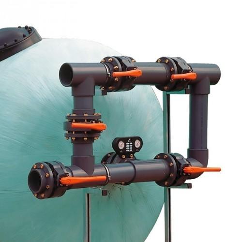 Foco empotrable sumergible led de 180 mm.