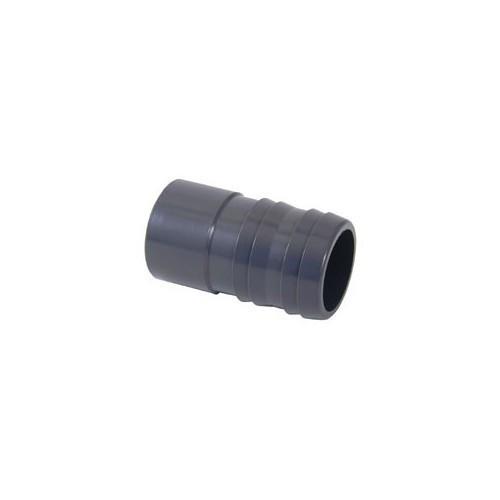 Espiga PVC conexión a PE lisa 50 x 38